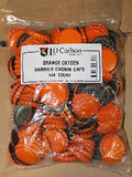 Bright Orange Oxygen-Barrier Crown Caps, Bag of 144