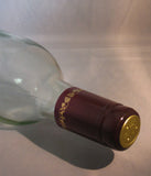 PVC Wine Shrink Capsules Bag of 30: Burgundy with Gold Grapes