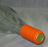 PVC Wine Shrink Capsules Orange Bag of 30