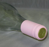 PVC Wine Shrink Capsules Pink Bag of 30