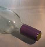PVC Wine Shrink Capsules Purple Bag of 30