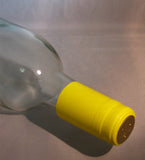 PVC Wine Shrink Capsules Bag of 30: Yellow
