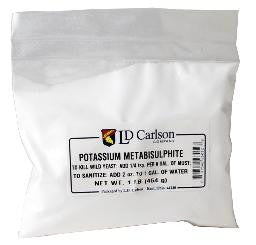 Potassium Metabisulfite 1 lb Bag