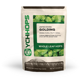 Golding Hops, Domestic Whole Leaf Hops 1 oz Bag