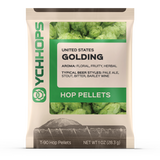 Golding Hops, Domestic Pellet Hops 1 oz Bag