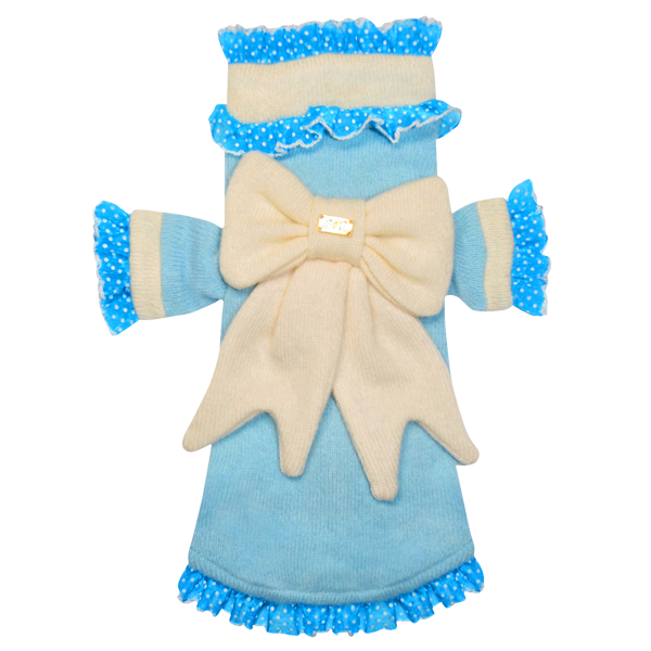 Ruffle Bow Sweater - Fifi & Romeo