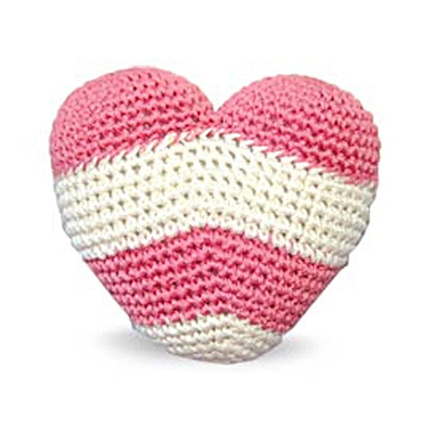 Striped Heart Toy