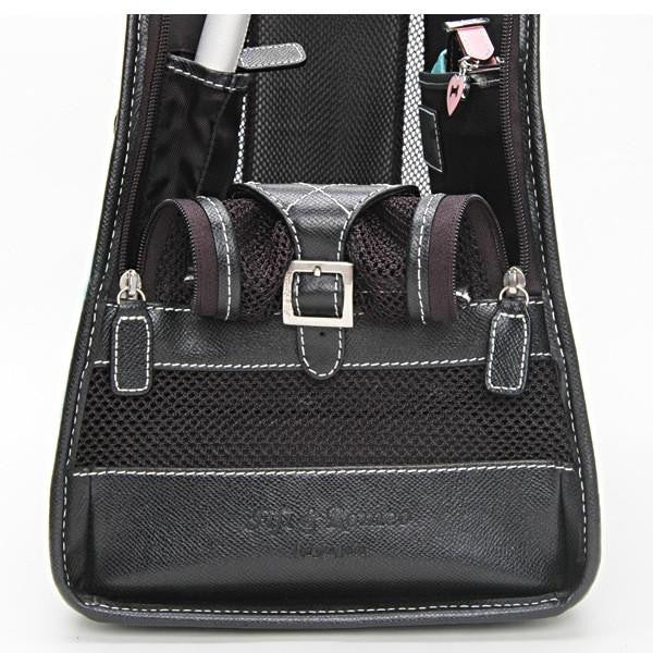 Blue Denim & Black Leather Carrier - Fifi & Romeo
