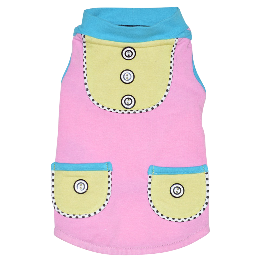 Sorbet Sleeveless Top - Pink