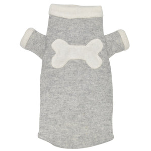 Bone Sweater - Grey & Creme