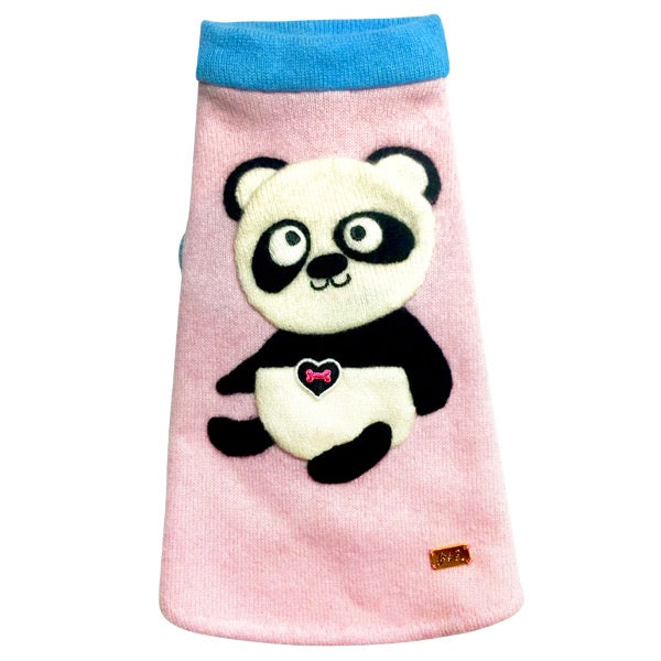 Sleeveless Panda Sweater - Fifi & Romeo