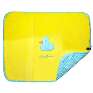 Duckie Velour Blanket