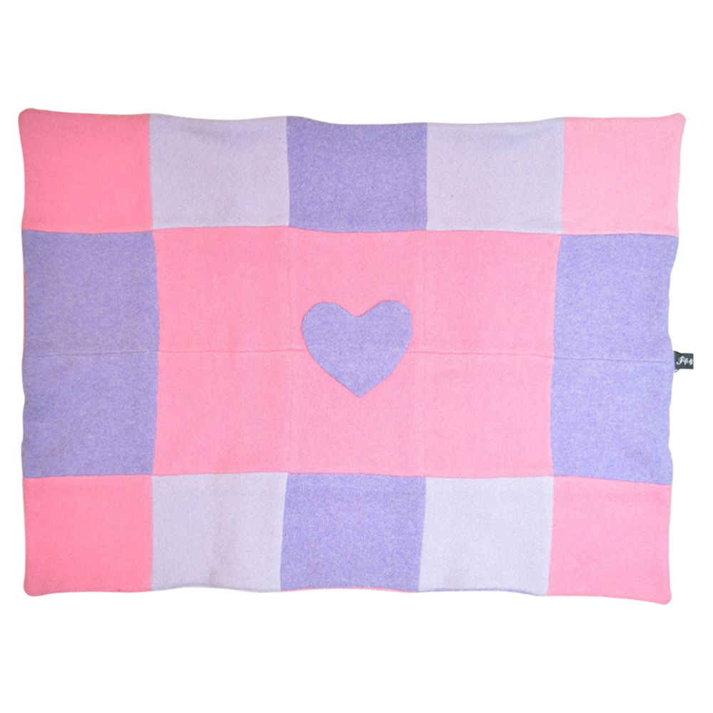 Heart Patch Blanket