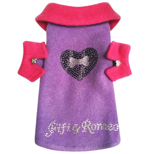 Heart & Bone Sweater - Fifi & Romeo