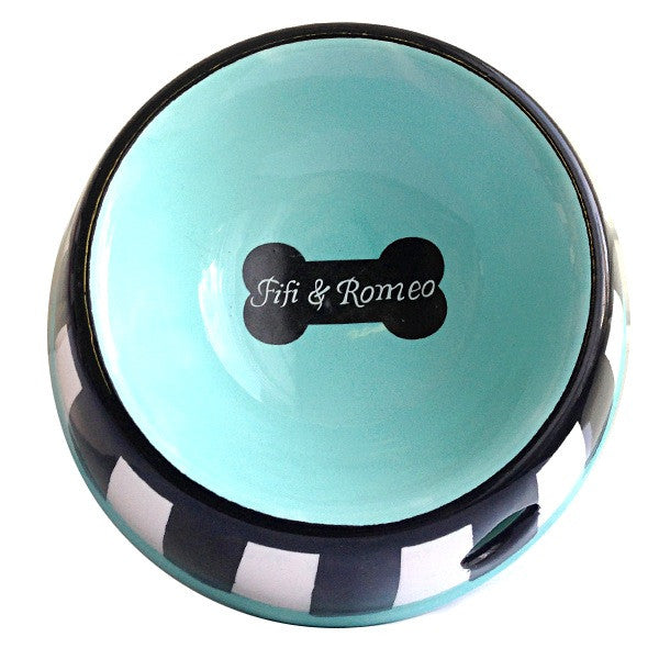 Striped Bone Bowl - Fifi & Romeo