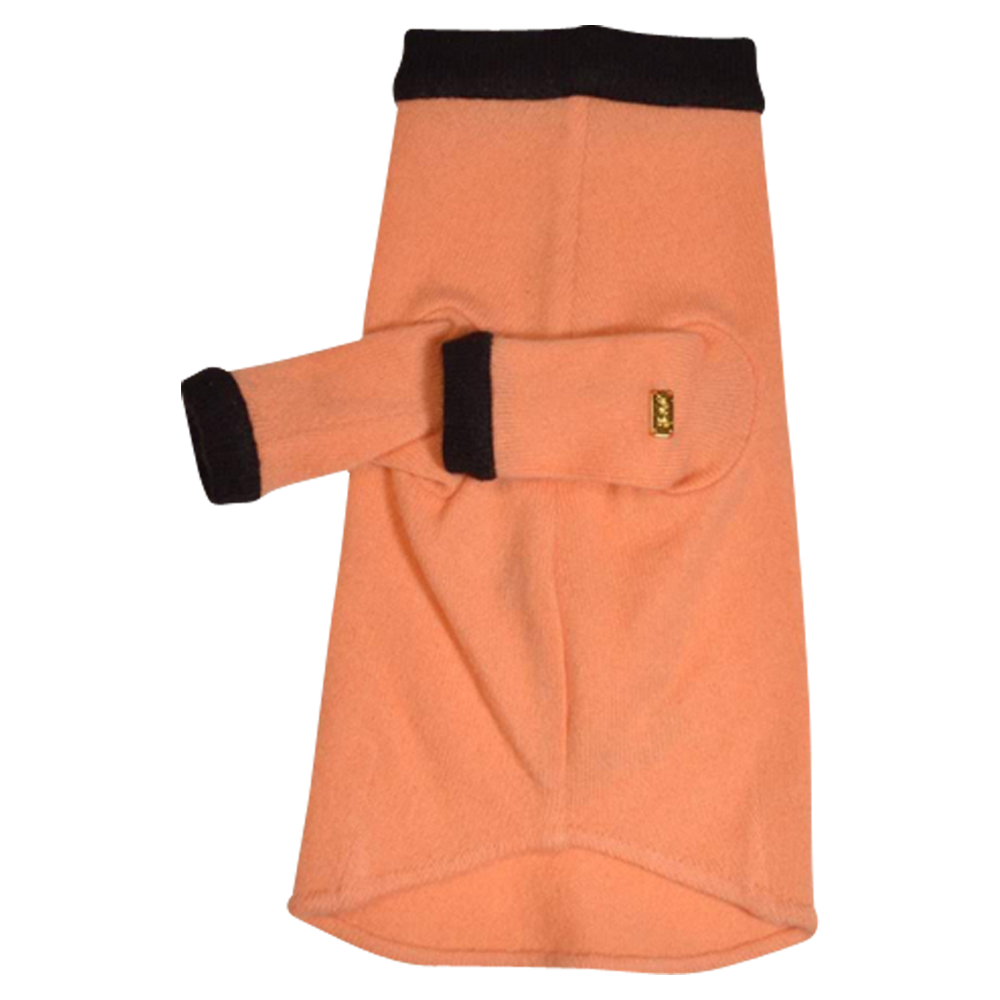 Bone Sweater - Orange & Brown