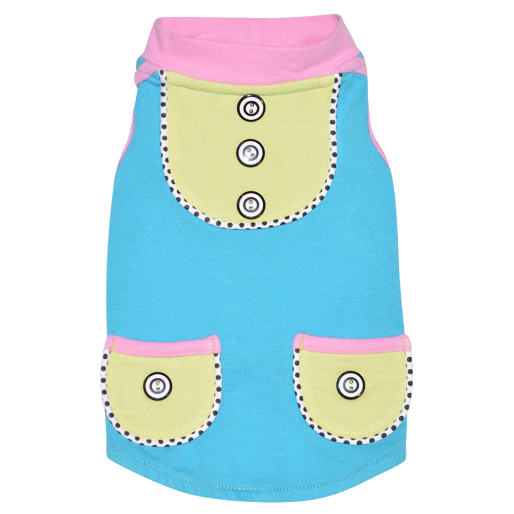 Sorbet Sleeveless Top - Aqua