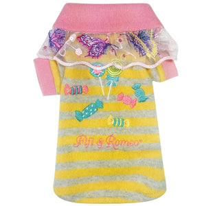 Butterfly Candy Sweater - Yellow