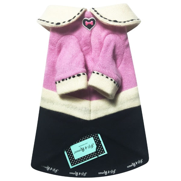 Heart Stitch Sweater - Fifi & Romeo