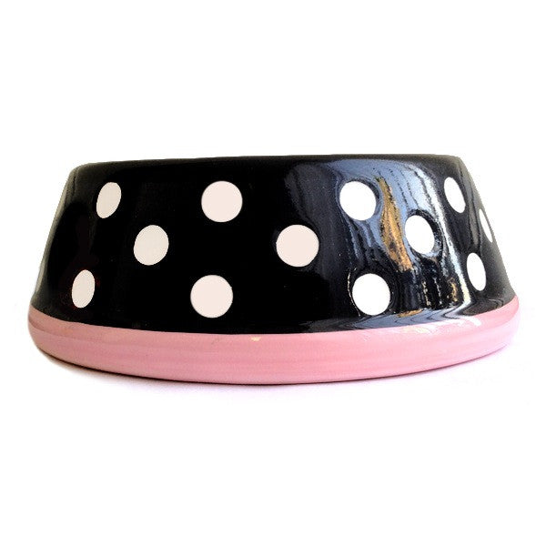 Polka Dot Heart Bowl - Fifi & Romeo