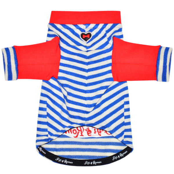 Red, White, & Blue Stripe T-Shirt - Fifi & Romeo