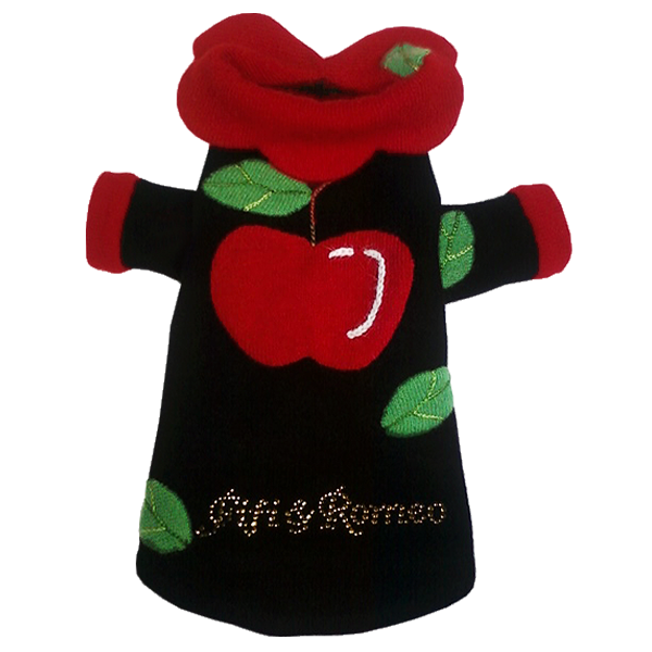 Apple Patch Sweater - Fifi & Romeo