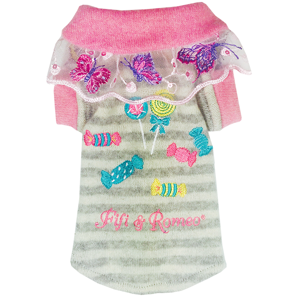 Butterfly Candy Sweater - Fifi & Romeo