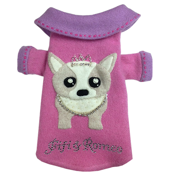 Chihuahua Princess Sweater - Fifi & Romeo