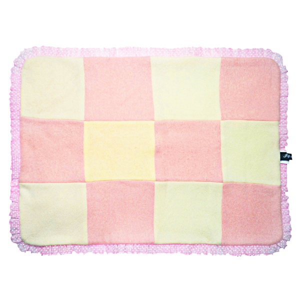 Checkered Bow Blanket