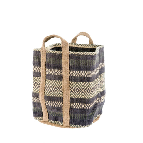 Blue Ridge Jute Storage Basket