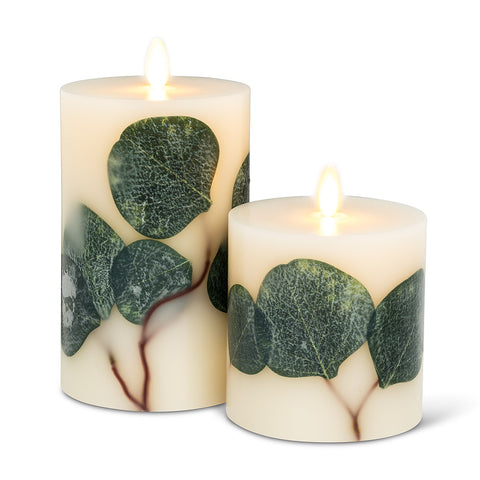Reallite Flameless Candles, Eucalyptus