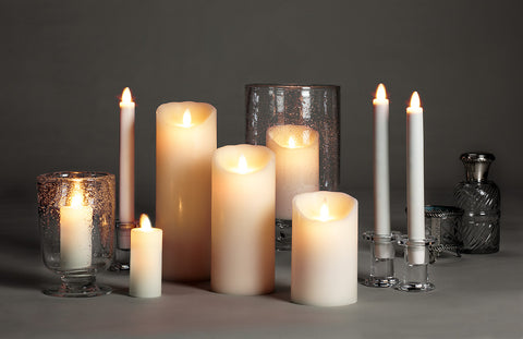 Reallite Flameless Candles, Ivory