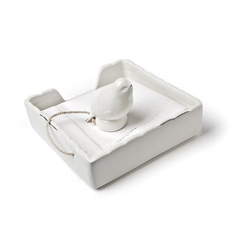 Ivory Bird Napkin Holders