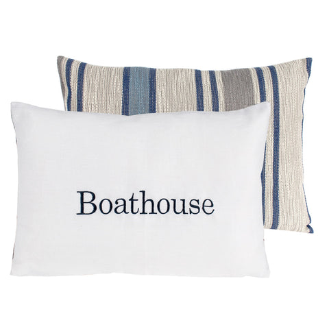 """Boathouse"" Cushion"