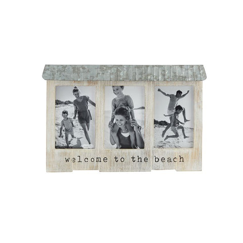 """Welcome to the Beach"" Picture Frame"