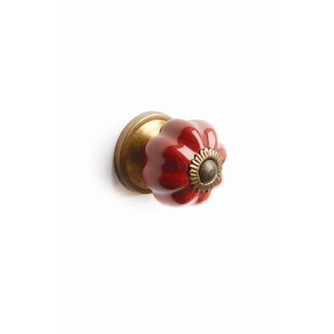 Mini Melon Knob Red
