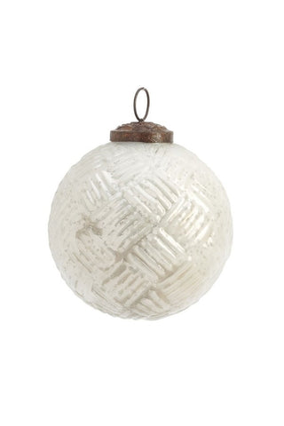 Christmas Ball, White