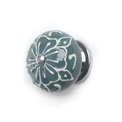 Relief Knob, Steel Blue