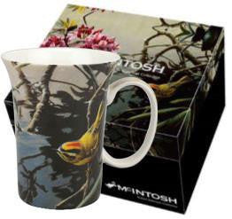 McIntosh Single Mugs - Robert Bateman, Kinglet