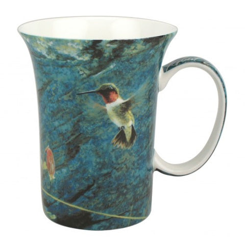 McIntosh Single Mugs - Robert Bateman, Hummingbird