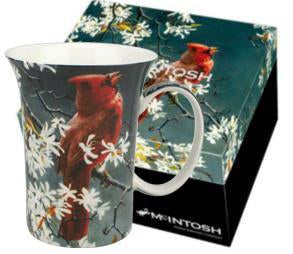 McIntosh Single Mugs - Robert Bateman, Cardinal