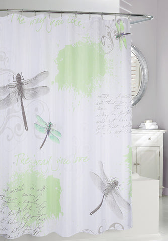 Dragonfly Shower Curtain Bella Interiors