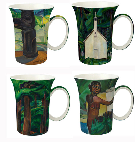 McIntosh Set of 4 Mugs - Emily Carr