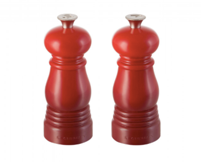 Salt & Pepper Mill, 11cm set, Cerise