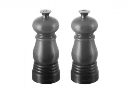 Salt & Pepper Mill, 11cm set, Oyster