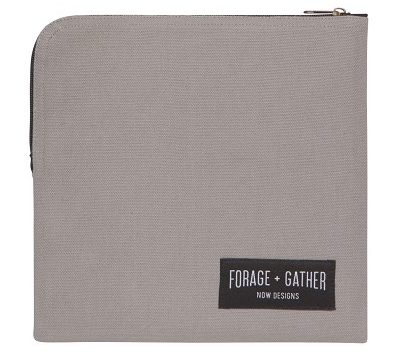 Forage Snack Bag, Grey