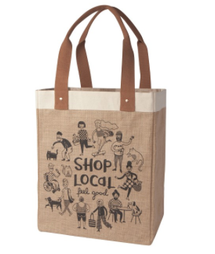 Tote Bag, Shop Local
