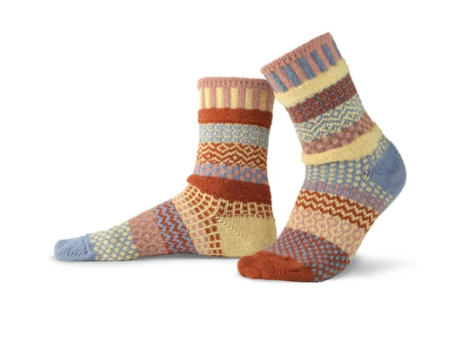Adult Socks, Sandstone