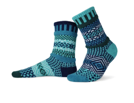 Adult Socks, Evergreen