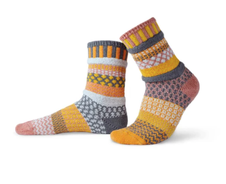Adult Socks, Buckwheat